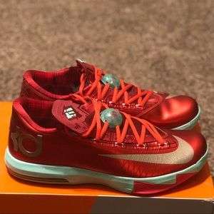 New Men's KD 6 Christmas